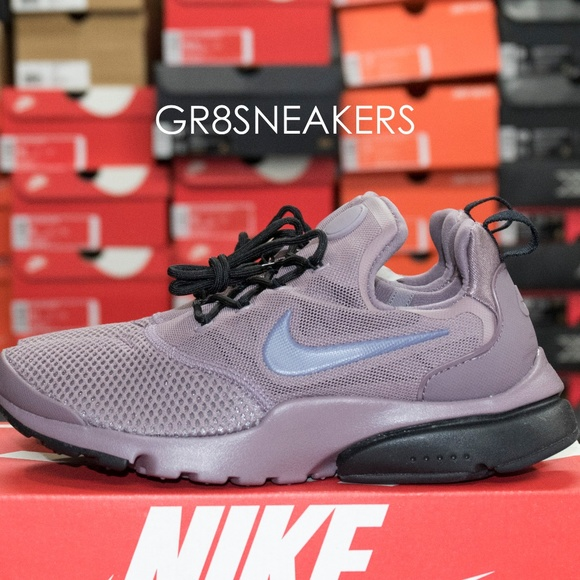 best sneakers 0f889 82884 WOMENS NIKE PRESTO FLY TAUPE GREY LIGHT CARBON